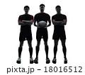 男達 選手たち 人影の写真 18016512