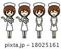 看護師 看護婦 ナースのイラスト 18025161