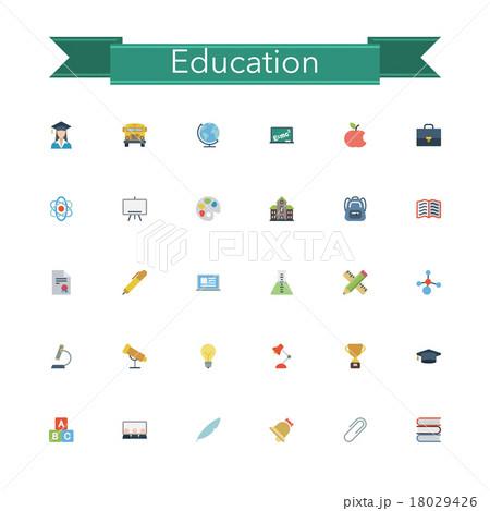 Education Flat Icons 18029426