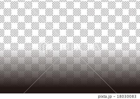 背景素材壁紙 水玉 みずたま チェック模様 ポッカドット 斑点 ディザ 格子柄 テーブルクロス 光 のイラスト素材