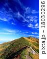 谷川連峰・朝日岳と秋空 18030296