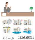 コールセンター 保険 イラスト 18036531