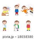 子供の怪我 18038380