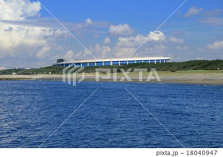 海から見た千葉マリンスタジアム 18040947
