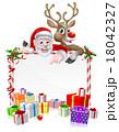 クリスマス サンタクロース ベクトルのイラスト 18042327