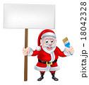 さんた サンタ サンタクロースのイラスト 18042328