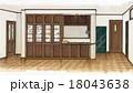 インテリアパース・ダイニングルーム 18043638