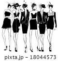 Women fashion models  18044573