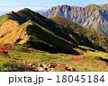 朝日岳から見る谷川岳 18045184