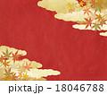 背景 和 紅葉のイラスト 18046788
