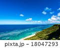 沖縄、海、海岸、風景 18047293