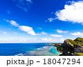 沖縄、海、海岸、風景 18047294