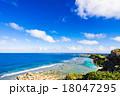沖縄、海、海岸、風景 18047295
