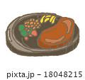 ステーキ 肉料理 洋食のイラスト 18048215