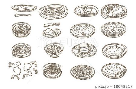 料理のセット 18048217