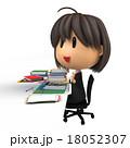 仕事 ビジネス 女性のイラスト 18052307