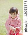 雨の日の女の子 18053373