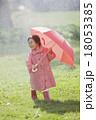 雨の日の女の子 18053385