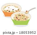 朝食シリアルとミルク 18053952