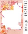 はがきテンプレート ハガキ ポストカードのイラスト 18055712