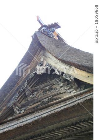 笹野観音堂の屋根 18059668