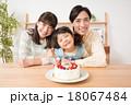 家族 誕生日 ケーキの写真 18067484