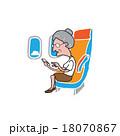 旅客 乗客 ツーリストのイラスト 18070867