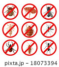 Set of pest insect icons 18073394