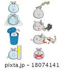 ゴミ 正しい出し方 ゴミの問題 カラー 18074141