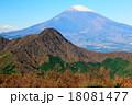 金時山と富士山 18081477