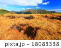 上越国境・蓬峠の湿原と朝日岳 18083338