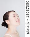女性 顔 18087350