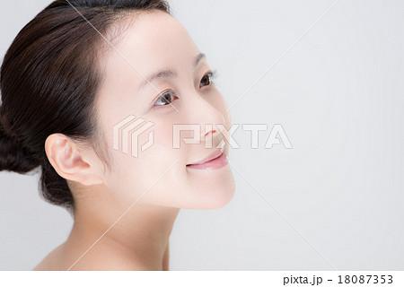 女性 顔 18087353