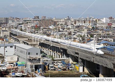 東海道新幹線 N700系 名古屋市熱...
