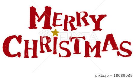 Merry Christmasのイラスト素材 [18089039] , PIXTA