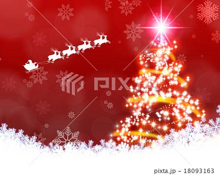 クリスマスイメージ素材 18093163