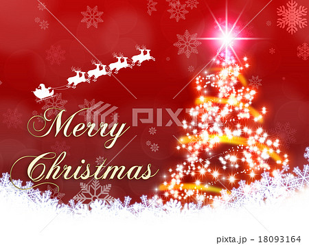 クリスマスイメージ素材 18093164
