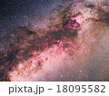 白鳥座付近の天の川 18095582
