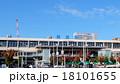 工事中の新潟駅 南口(2015年) 18101655