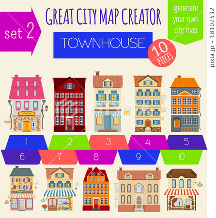 Great City Map Creator House Constructor 18102532