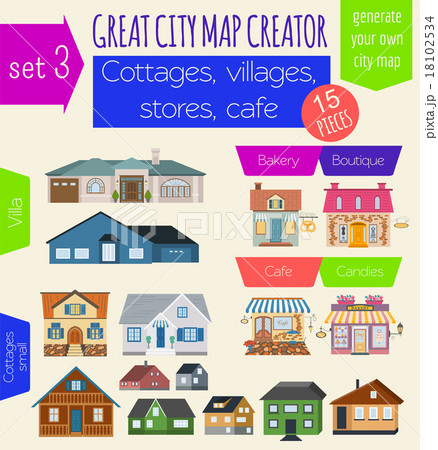 Great City Map Creator House Constructor 18102534