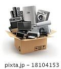 BOX ボックス 移動のイラスト 18104153