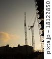 建設現場 夕方 18122850