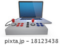 ジョイスティック コントローラー PCのイラスト 18123438
