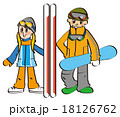 スノーボードカップル 18126762