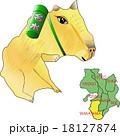 地図の動物 近畿 和歌山 カピバラ 18127874