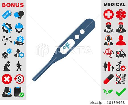Fahrenheit Thermometer Icon 18139468