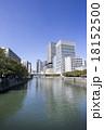 淀屋橋 大阪市 ビル群の写真 18152500