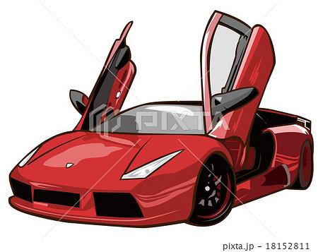 車のイラスト素材 18152811 Pixta