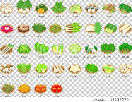 蔬菜 水果 圖標 18157570